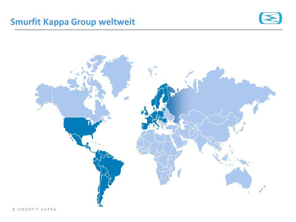 2 : SMURFIT KAPPA Smurfit Kappa Group weltweit