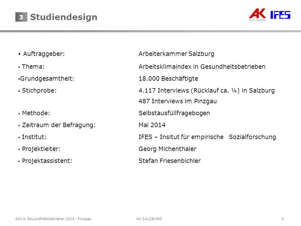 4 AKI in Gesundheitsbetrieben 2014 - Pinzgau AK SALZBURG 4 Navigator 1.