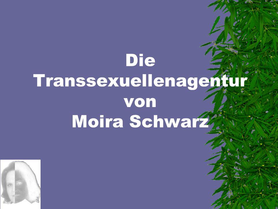 Wussten Sie  dass sich Transsexuelle aufgrund ihres männlichen und weiblichen Verstandes besser einfühlen können als sogenannte normale Bürger, wie z