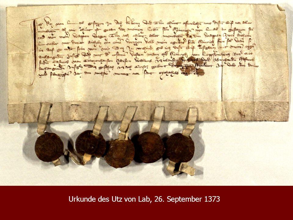 Wappenbrief König Johanns von Böhmen für das Bistum Trient, 9. August 1339, Breslau