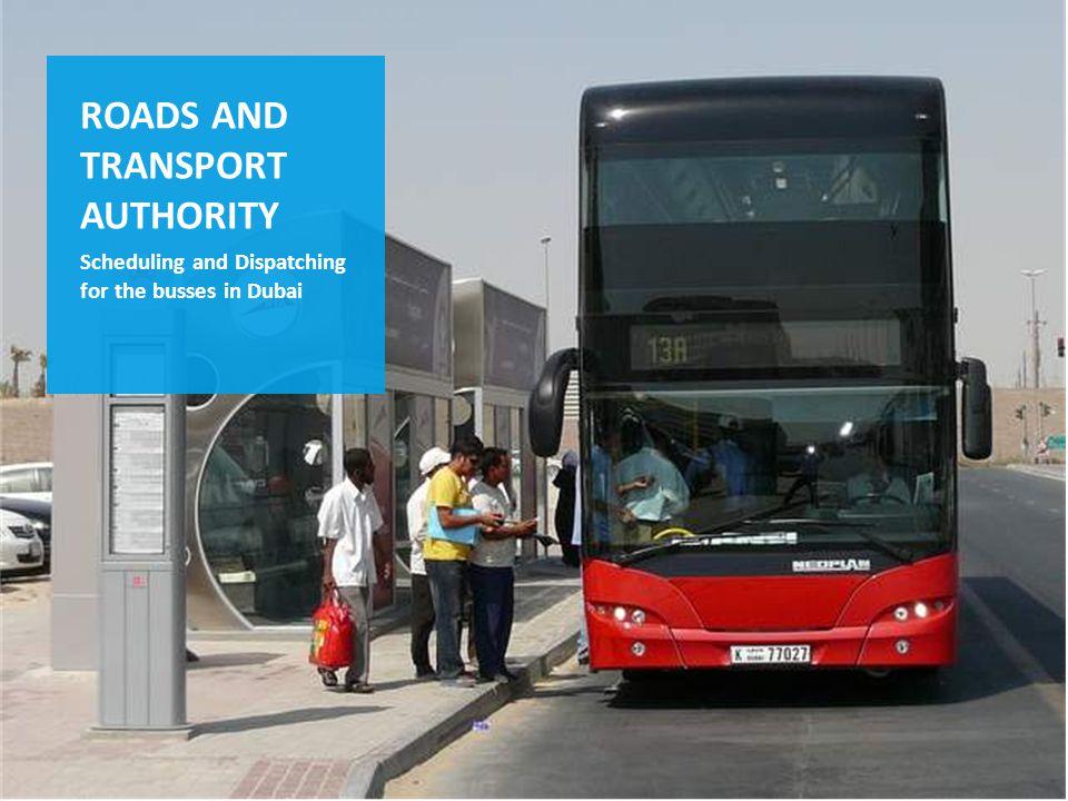 Die IVU.suite im Einsatz z.B. in Arabien Planung und Disposition mit IVU.plan /.vehicle /.crew - für den Busverkehr in Dubai - für den regionalen Busv