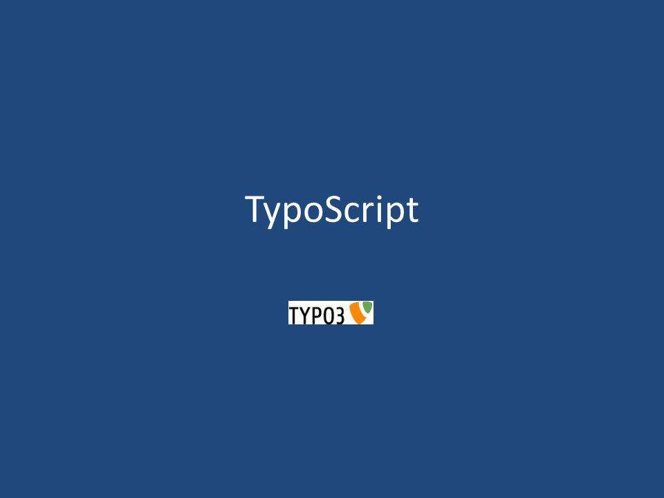 TypoScript – Was ist das.