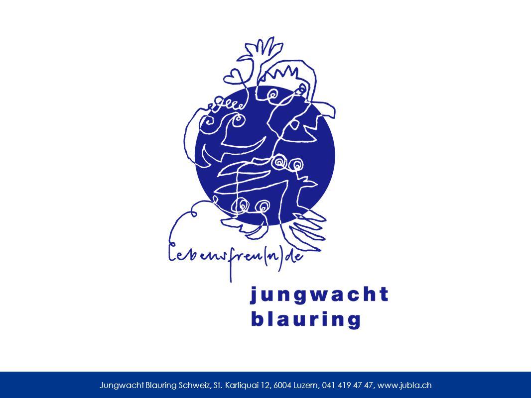 Jungwacht Blauring Schweiz, St. Karliquai 12, 6004 Luzern, 041 419 47 47, www.jubla.ch