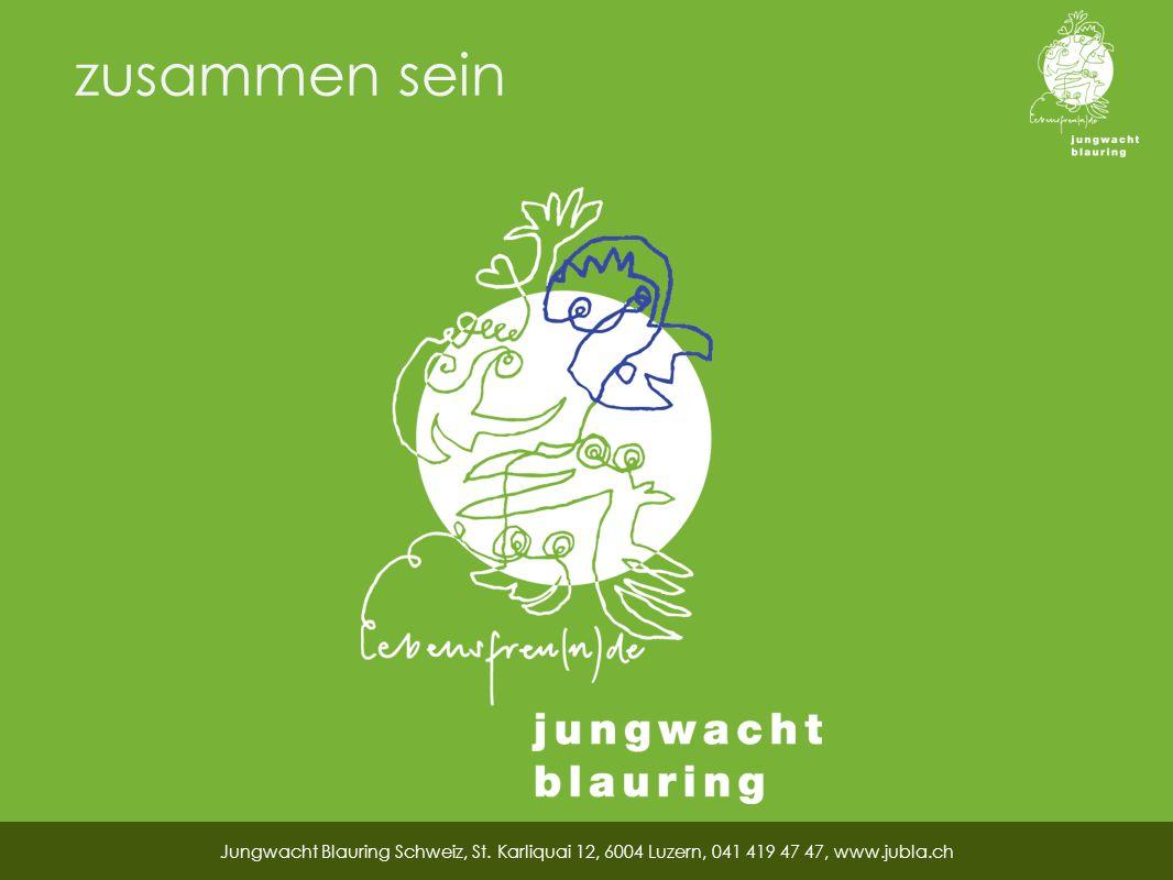 zusammen sein Jungwacht Blauring Schweiz, St.