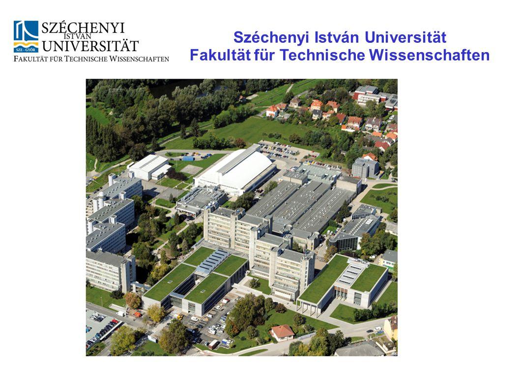 Széchenyi István Universität Fakultät für Technische Wissenschaften