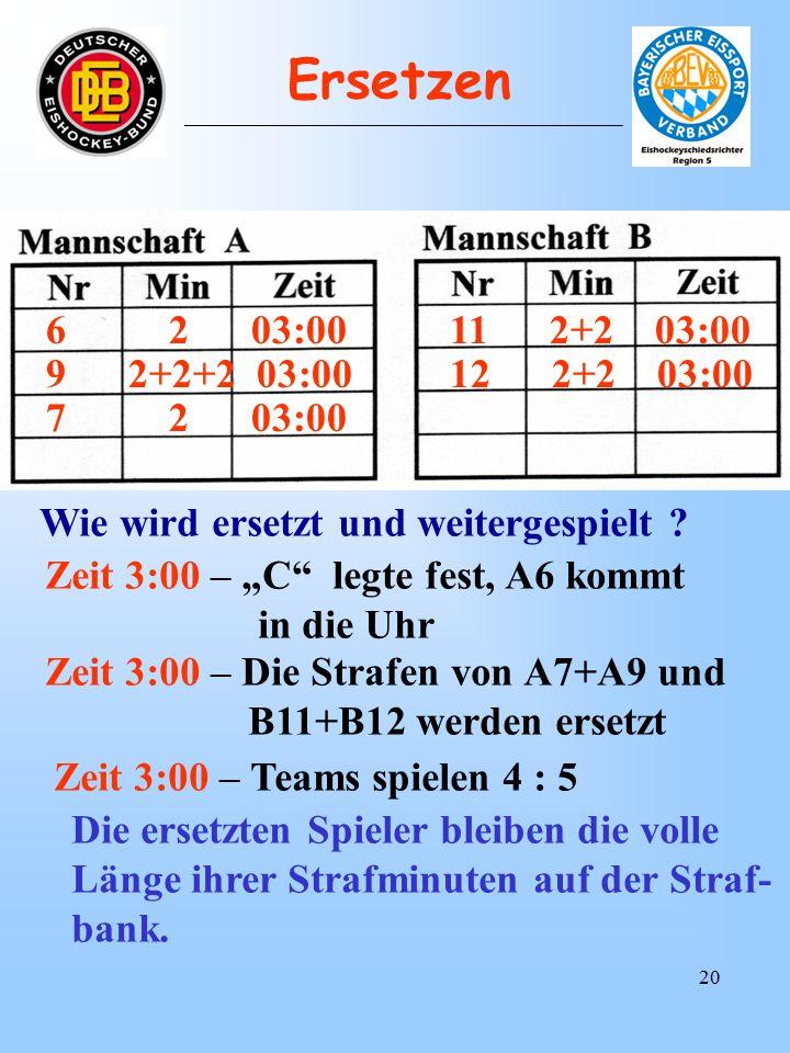 19 6 2 03:00 12 2 03:00 Wie wird ersetzt und weitergespielt .