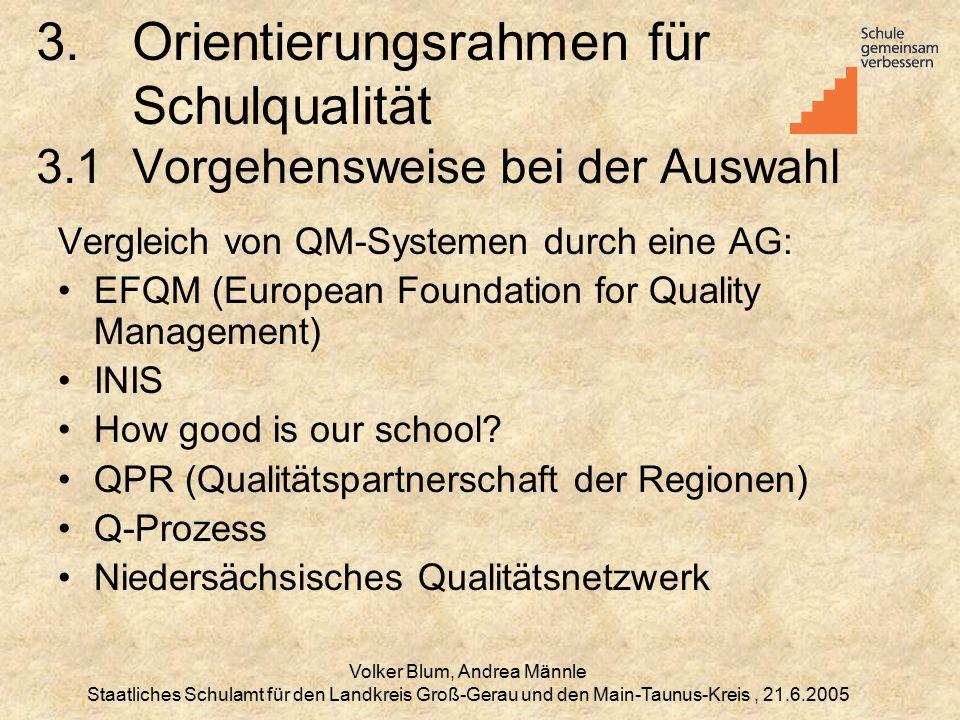Volker Blum, Andrea Männle Staatliches Schulamt für den Landkreis Groß-Gerau und den Main-Taunus-Kreis, 21.6.2005 3.