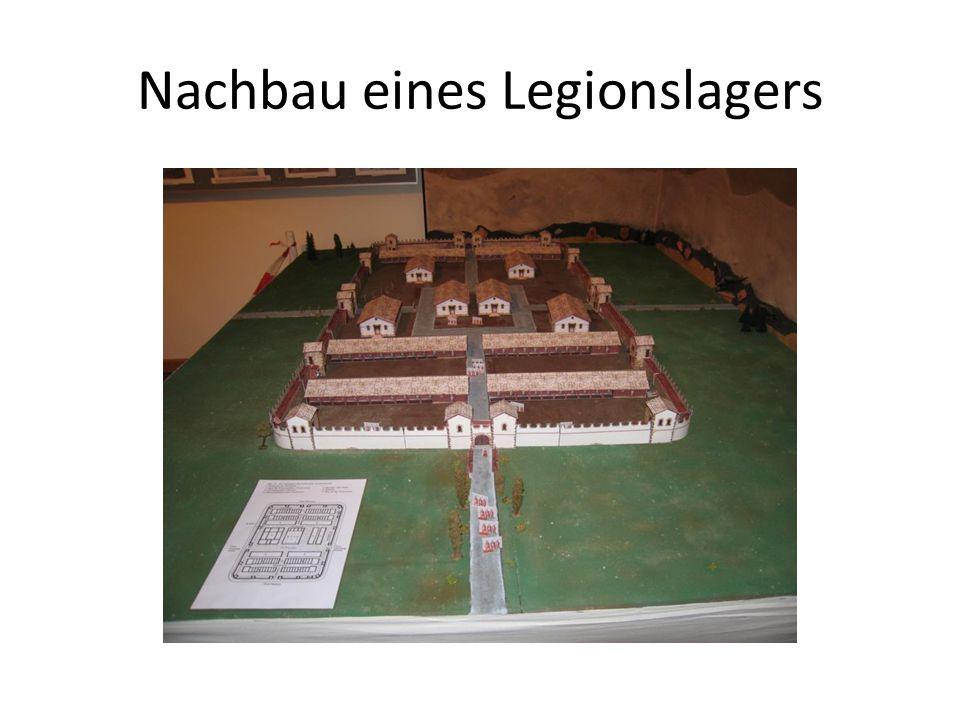 Nachbau eines Legionslagers