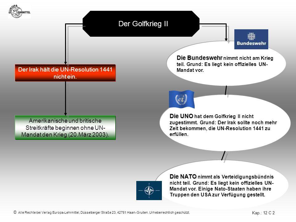 © Alle Rechte bei Verlag Europa-Lehrmittel, Düsselberger Straße 23, 42781 Haan-Gruiten.