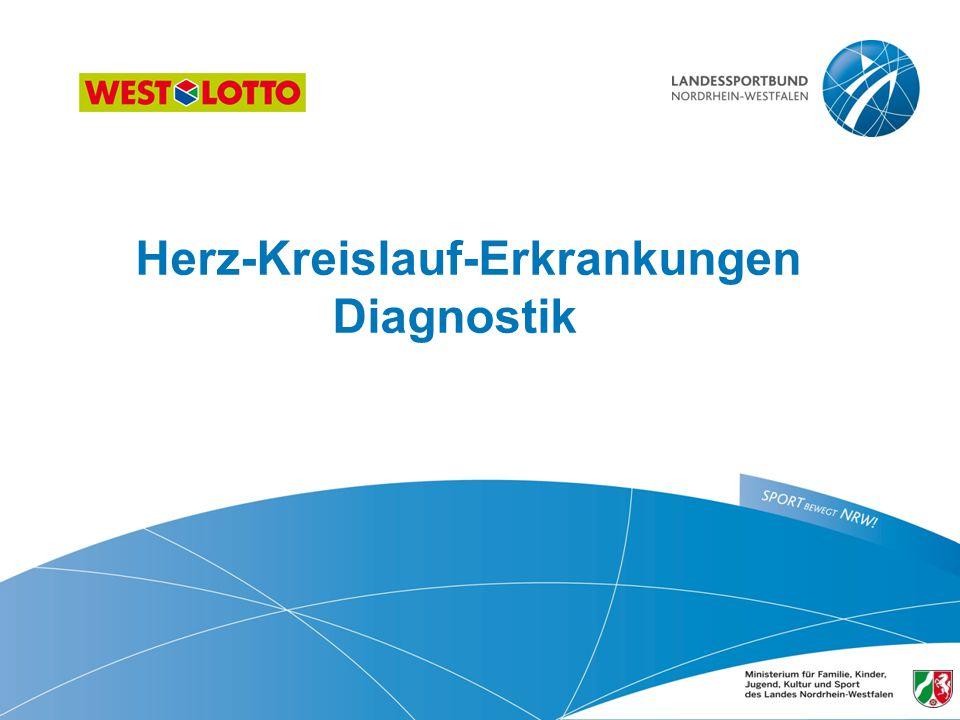 Herz-Kreislauf-Erkrankungen Diagnostik 