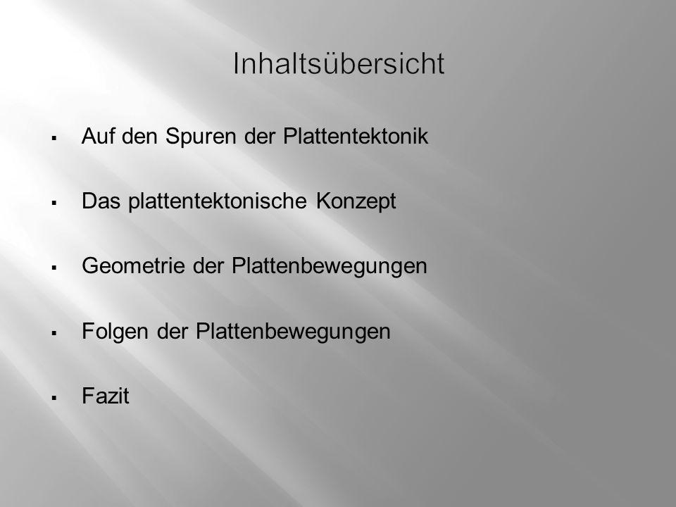 Antrieb der Plattenbewegungen  Rückenschub  Plattenzug  Konvektion geolinde.musin.de