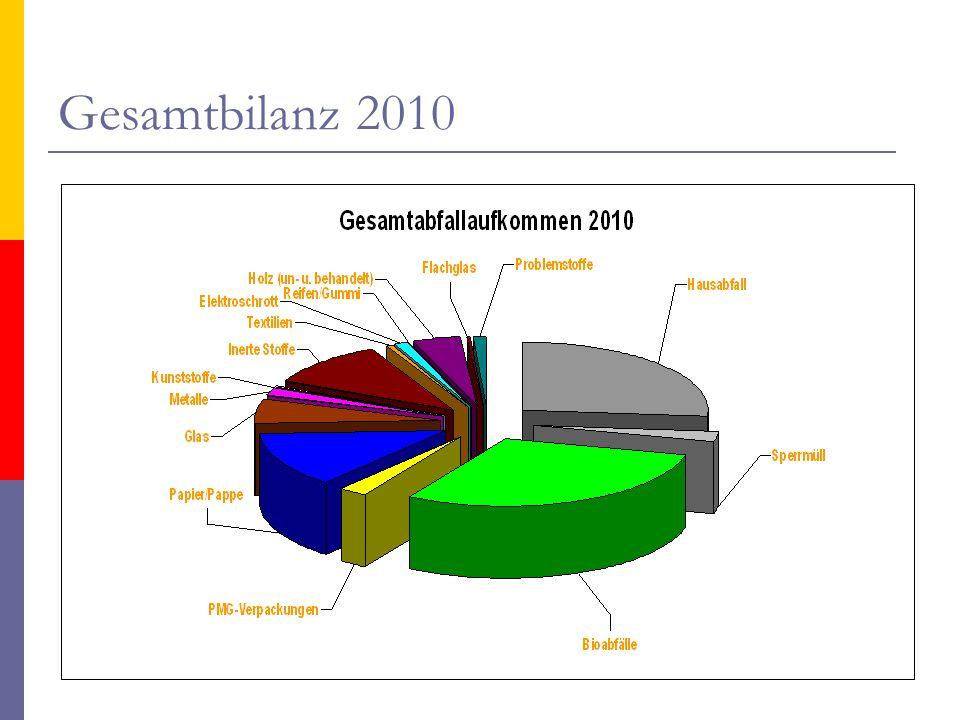 Gesamtbilanz 2010