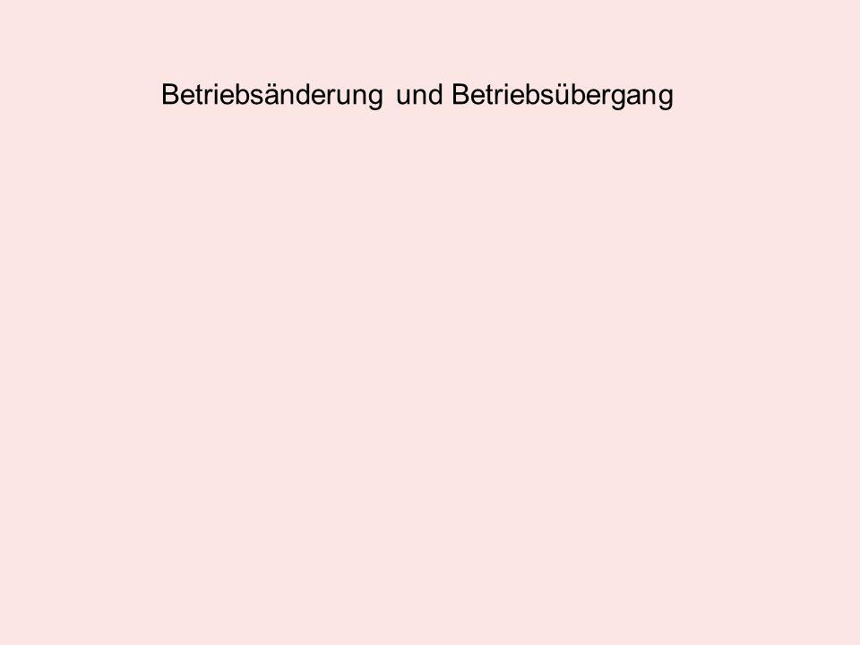 12.11.04: Information des Betriebsrats und Verhandlung über Interessenausgleich.