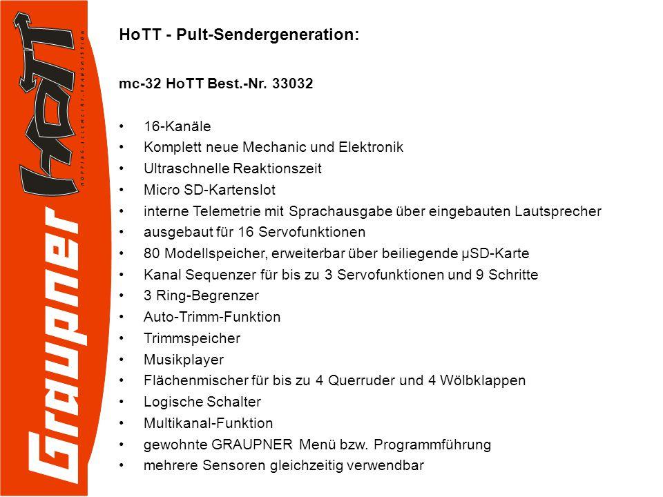 HoTT – Empfänger: GR-32 HoTT Best.-Nr.