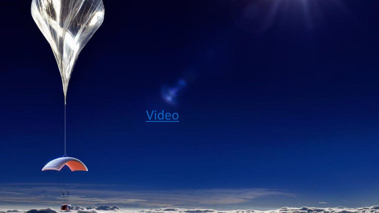 The Experience Bei Sonnenaufgang in die Schwärze des Weltraums treiben und dabei die Erdkrümmung anschauen.