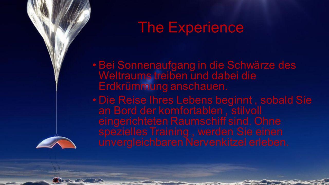 Historisch Höhenballons dienten zu ersten Versuchen, um die Raum-Umgebung zu erforschen Wernher von Braun entwickelte die erste Rakete fürs Apollo-Raumfahrtprogramm Versuche dienten zur Überprüfung der Auswirkungen des Raumes auf den menschlichen Körper.
