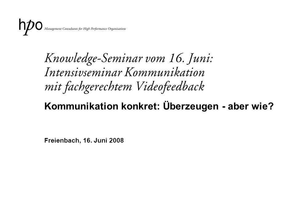2 Titel: Kommunikation konkret: Überzeugen - aber wie.