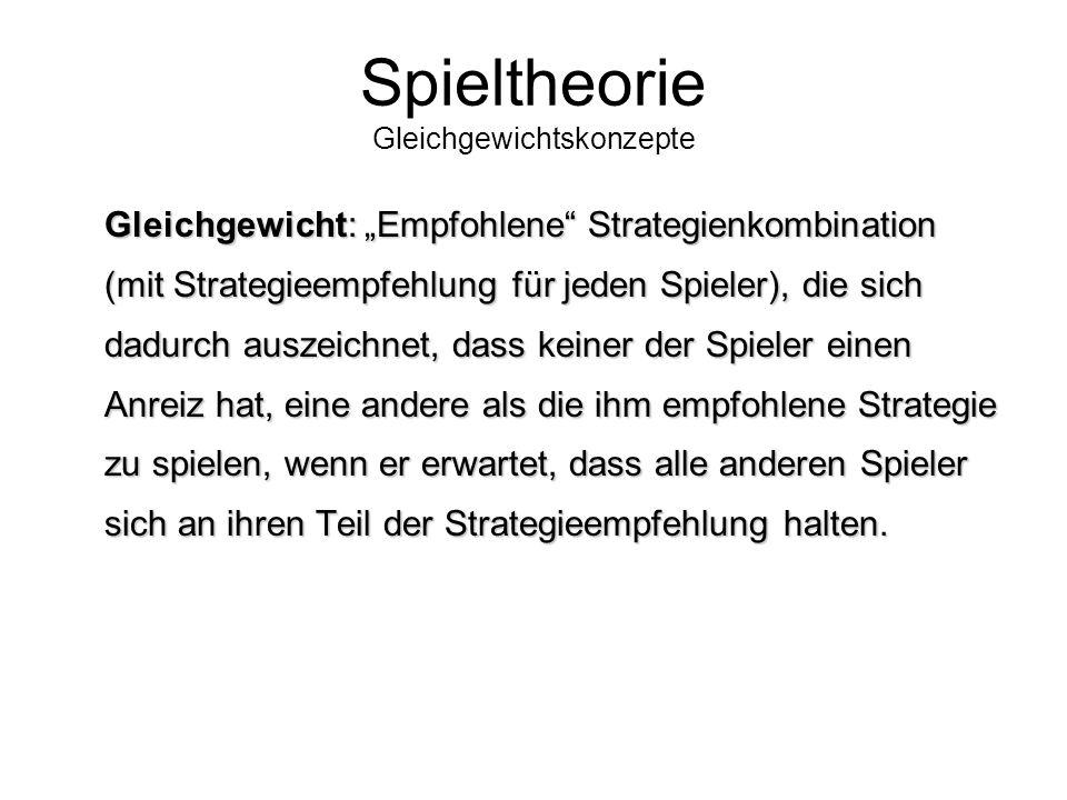 Spieltheorie Lösung Mr. X GestehenNicht gestehen Mr.