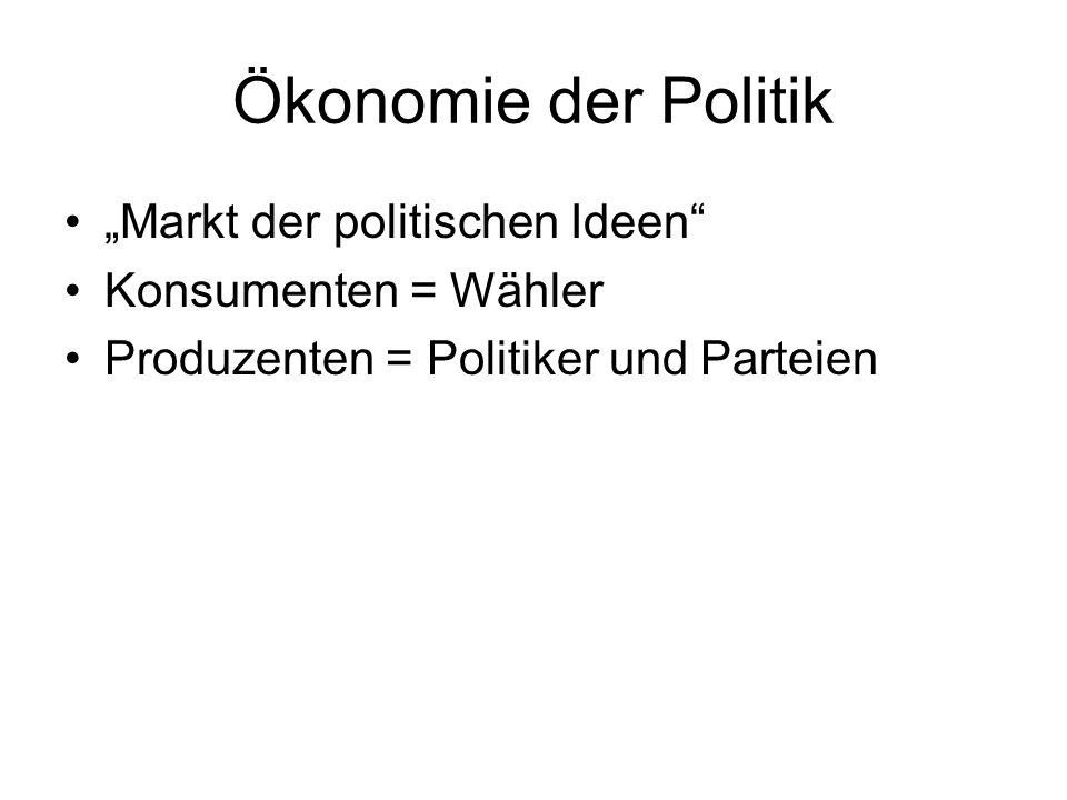 POLITICAL ECONOMY Law & Economics: