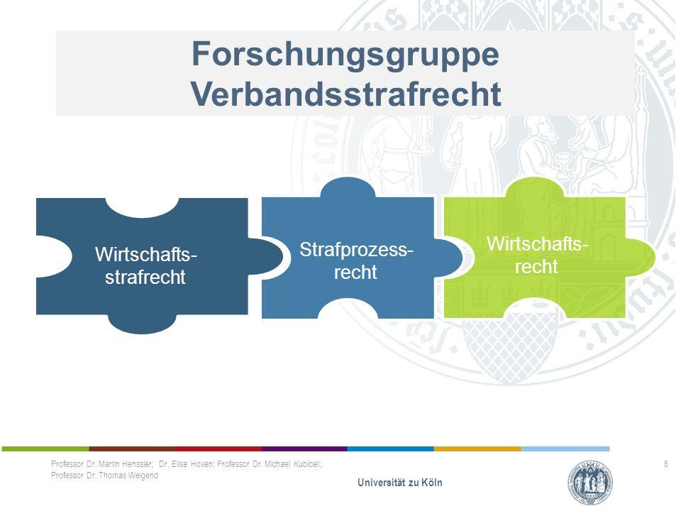 Wirtschaftsstrafrecht Anwendungsfragen: Verbände – welche Verbände.