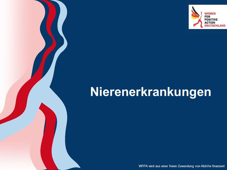 WFPA wird aus einer freien Zuwendung von AbbVie finanziert Nierenerkrankungen