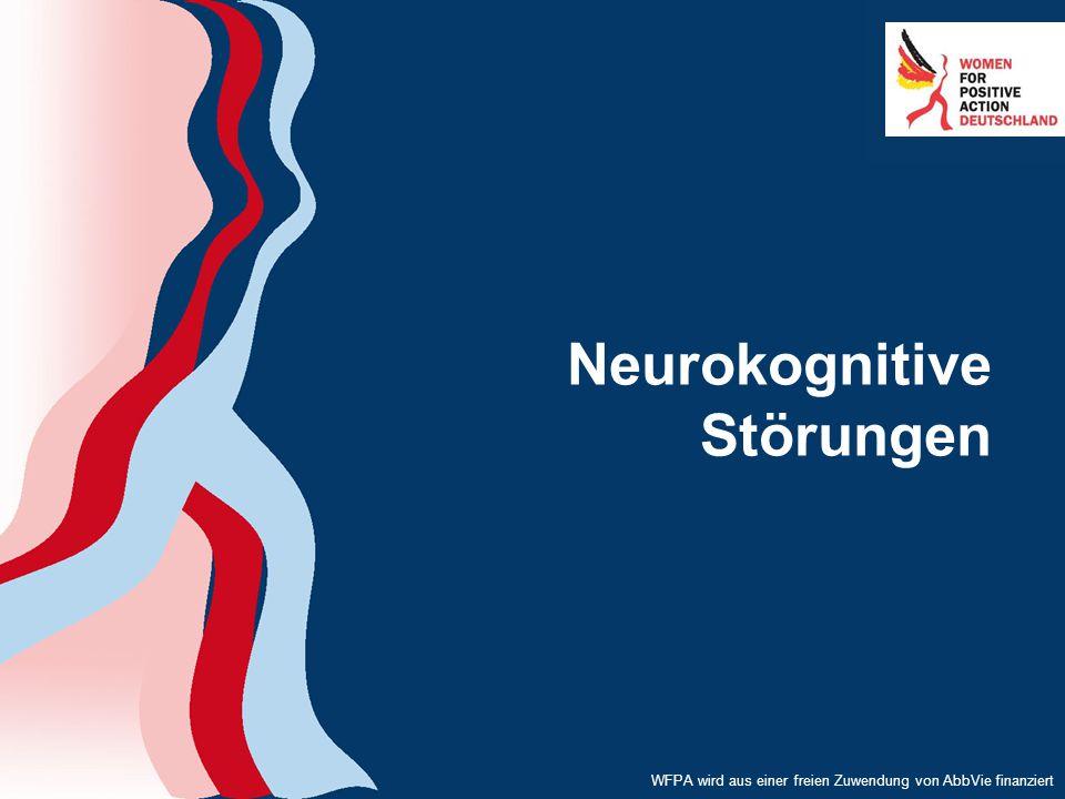 WFPA wird aus einer freien Zuwendung von AbbVie finanziert Neurokognitive Störungen