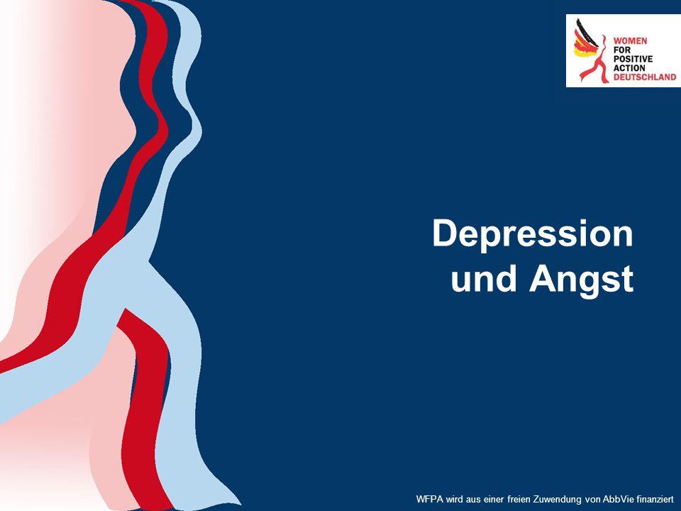 WFPA wird aus einer freien Zuwendung von AbbVie finanziert Depression und Angst