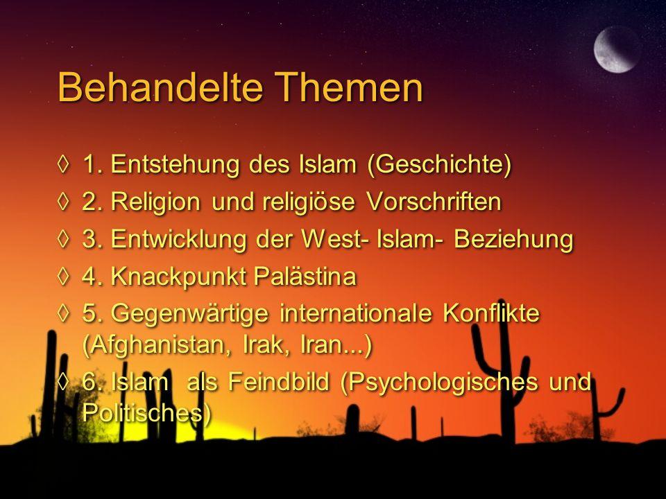 Verbreitung des Islams (grün: Sunniten. braun: Schiiten; total: 1,3 Mrd)