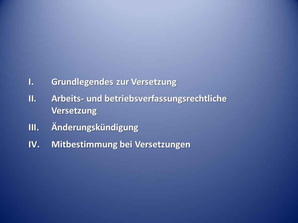 Ausschluss bestimmter Arbeitszeitmodelle – BAG Urt.