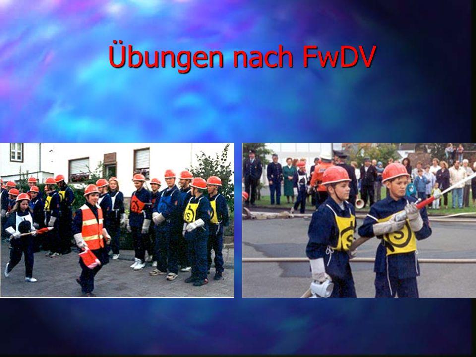 Übungen nach FwDV