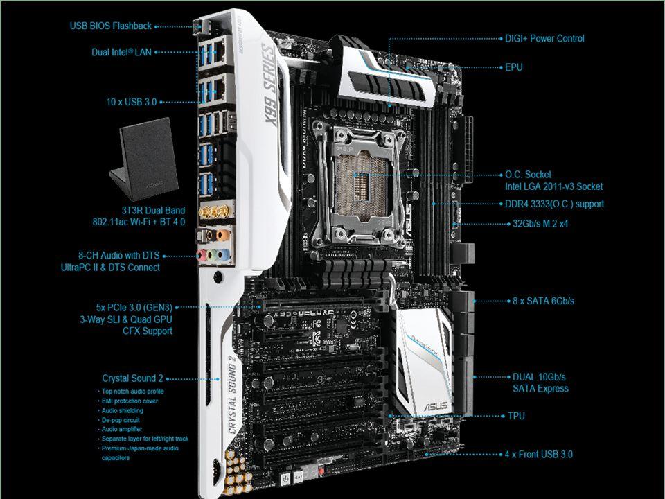 AUGE e.V. - Der Verein der Computeranwender X99-Chipsatz – S2011-v3 21 PGP III/15
