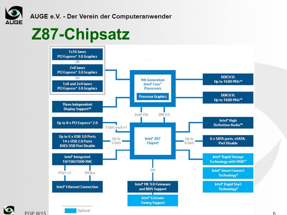 AUGE e.V. - Der Verein der Computeranwender Z87-Chipsatz 8 PGP III/15
