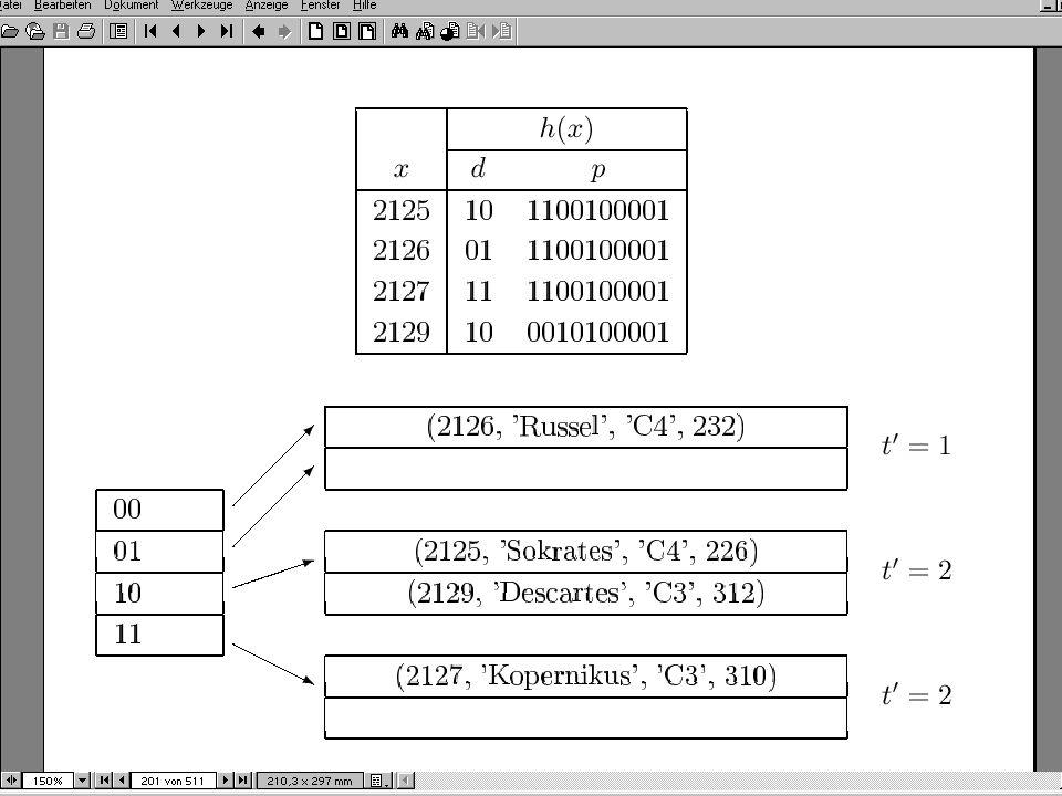 101  Ursprüngliche Motivation: Indexe für geometrische Daten  Allgemeine Verwendungsmöglichkeit: Indexierung von mehreren Attributen (= Dimensionen)  R-Baum = balancierter Baum.