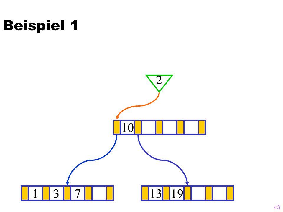 43 1371319 ? 10 2 Beispiel 1