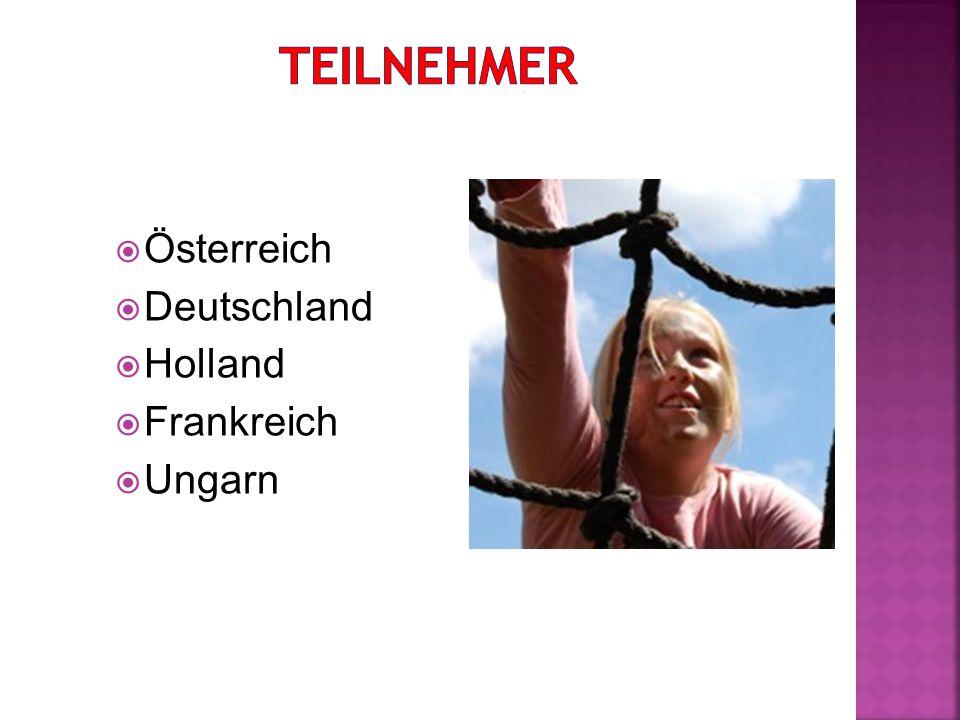  Österreich  Deutschland  Holland  Frankreich  Ungarn