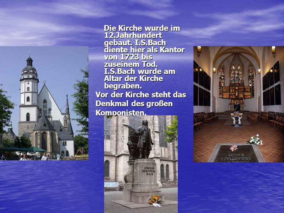 Die Kirche wurde im 12.Jahrhundert gebaut.