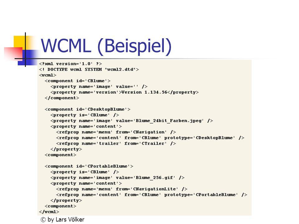 WCML (Beispiel) © by Lars Völker