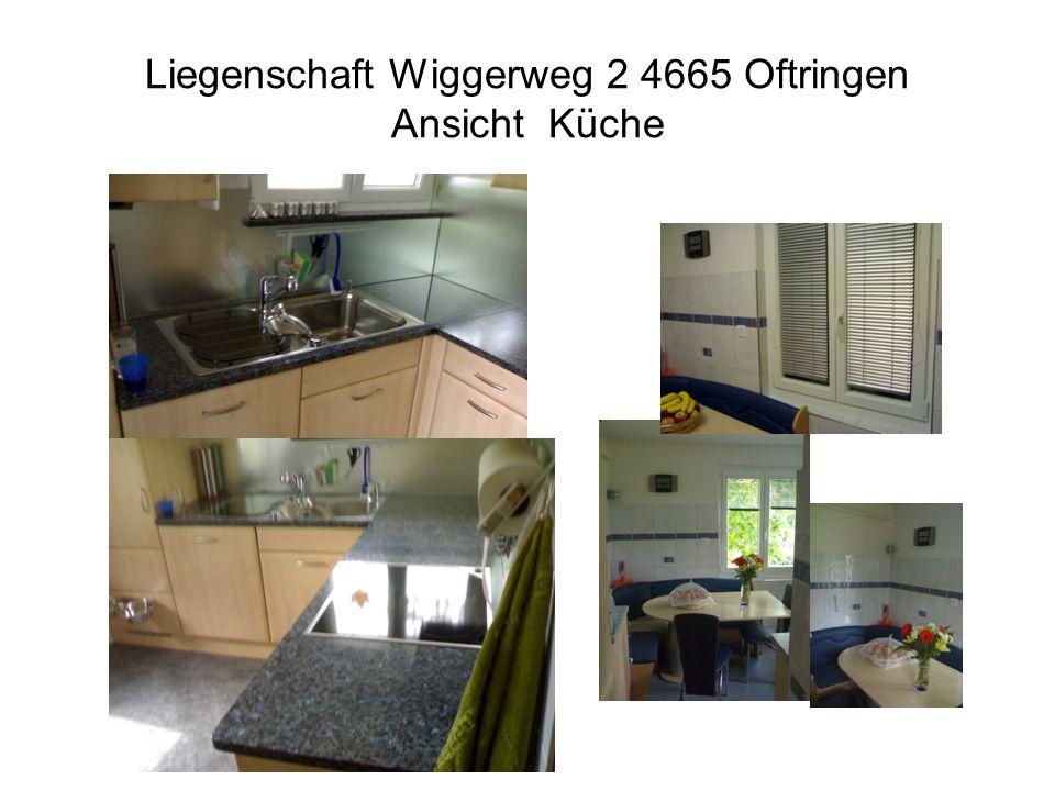 Liegenschaft Wiggerweg 2 4665 Oftringen Ansicht Küche
