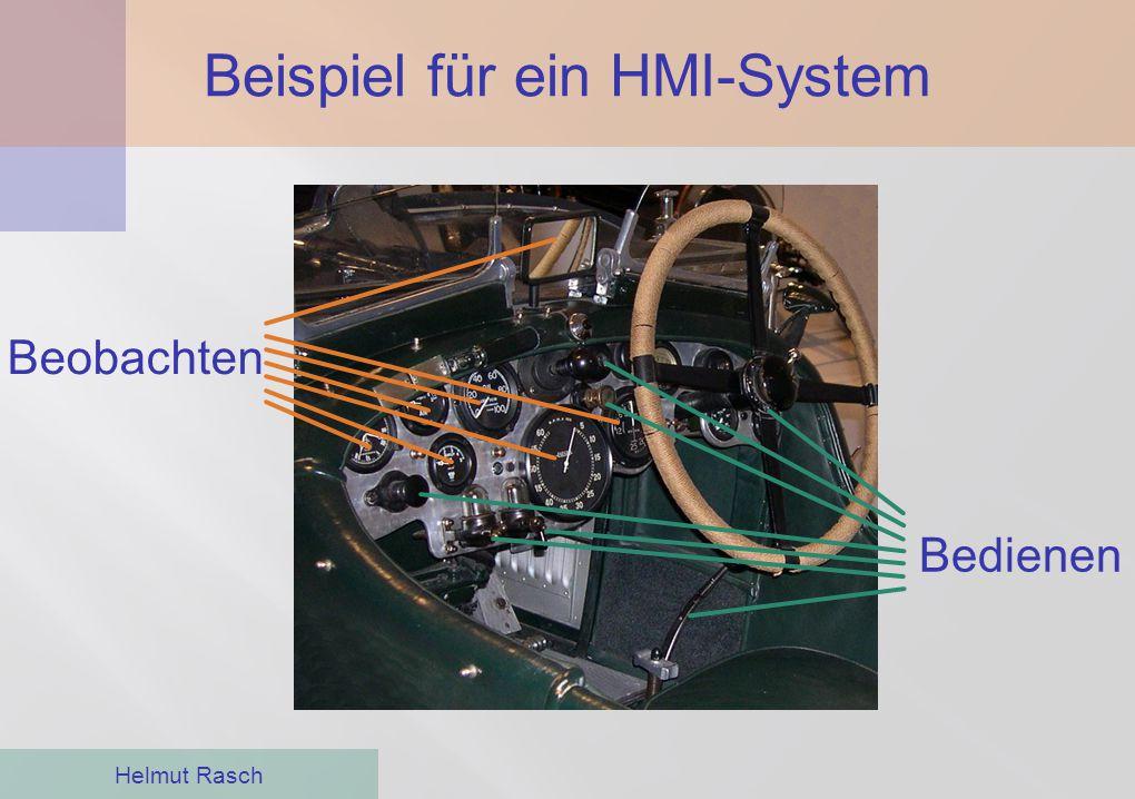 Moderne HMI-Software Helmut Rasch ●Historisch sah die Bedienung von Industrie- anlagen sehr ähnlich aus ●HMI-Software wurde erstmals zum Bedienen und Beobachten von Herstellungs- oder Erzeugungsprozessen eingesetzt ●Mit den Windows-PCs in den 90er-Jahren änderte sich das grundlegend