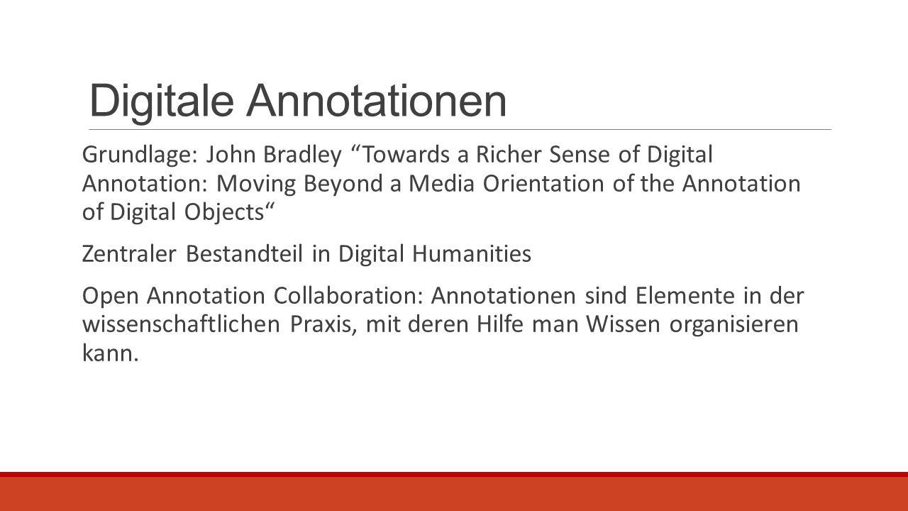 WordHoard Wort Information mit Pliny Annotation  Man kann immer kommentieren wann man möchte