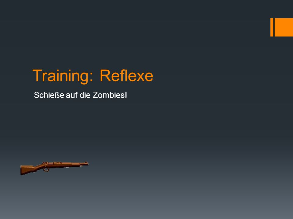 Start How to Play Training Waffen kaufen