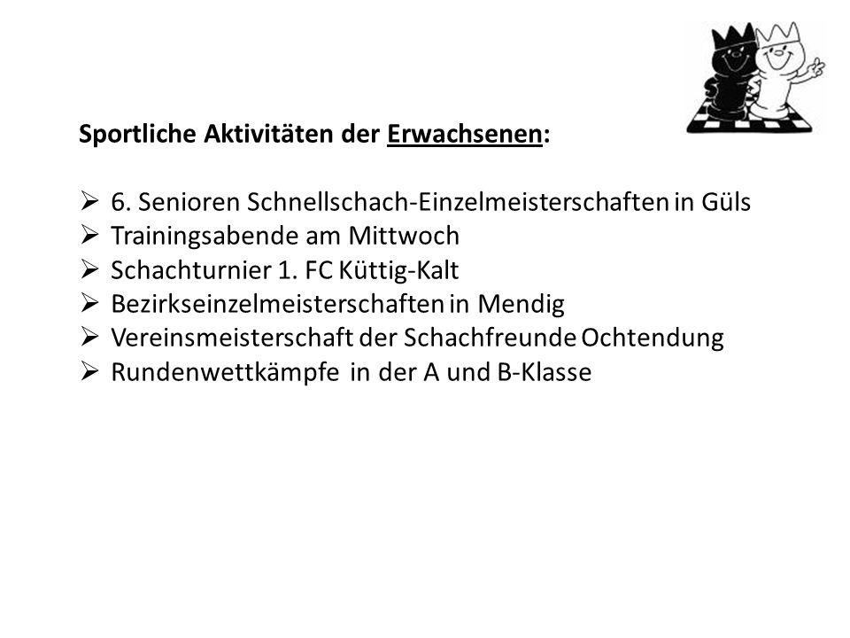 20. Rhein-Ahr-Mosel Jugend Open in Nickenich Mit von der Partie waren, Nils, Moritz, Kathrin, Edgar u. Niklas