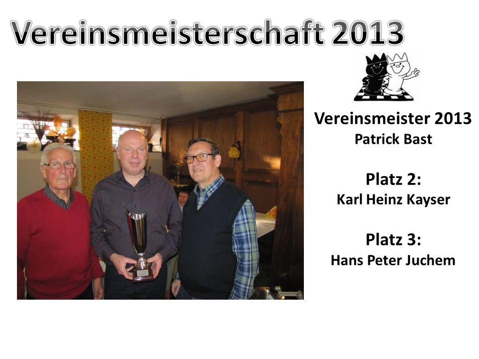 Rundenwettkampf B-Klasse Sfr. Ochtendung II gegen III Sfr. Ochtendung II: Niklas Sonnen, Hans Peter Juchem, Jan Pütz, Kathrin Bast