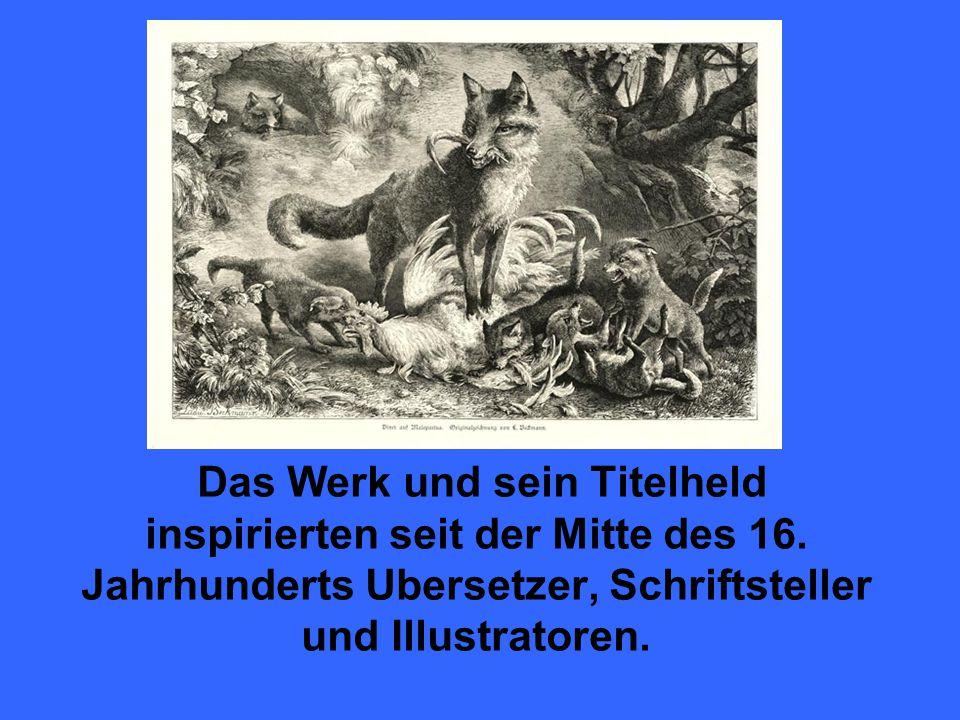 Richter, Adrian Ludwig: Illustration zu Goethes «Reineke Fuchs»