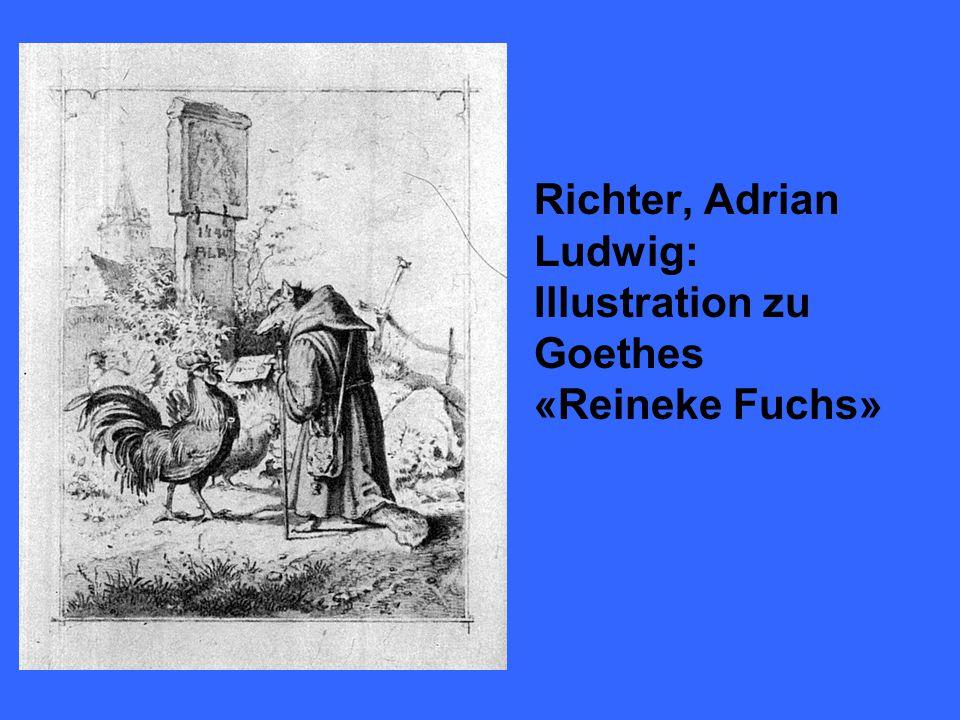 Die heute gebrauchliche Namensform Reineke Fuchs wurde zuletzt durch das gleichnamige Versepos Johann Wolfgang von Goethes etabliert.