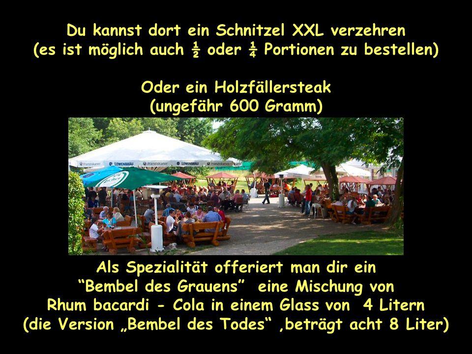 Das Bier wird serviert in Glaserl von 0,5, 1 oder 2 Litern ! Hofheim ist eine Stadt in Hessen – 17 km im Westen von Frankfurt