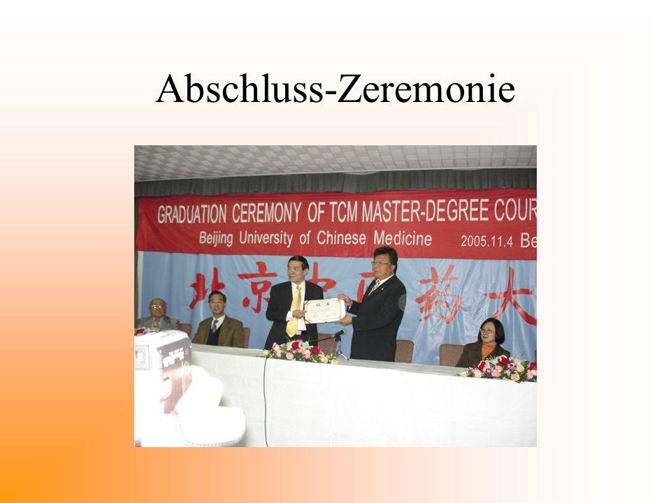 Abschluss-Zeremonie