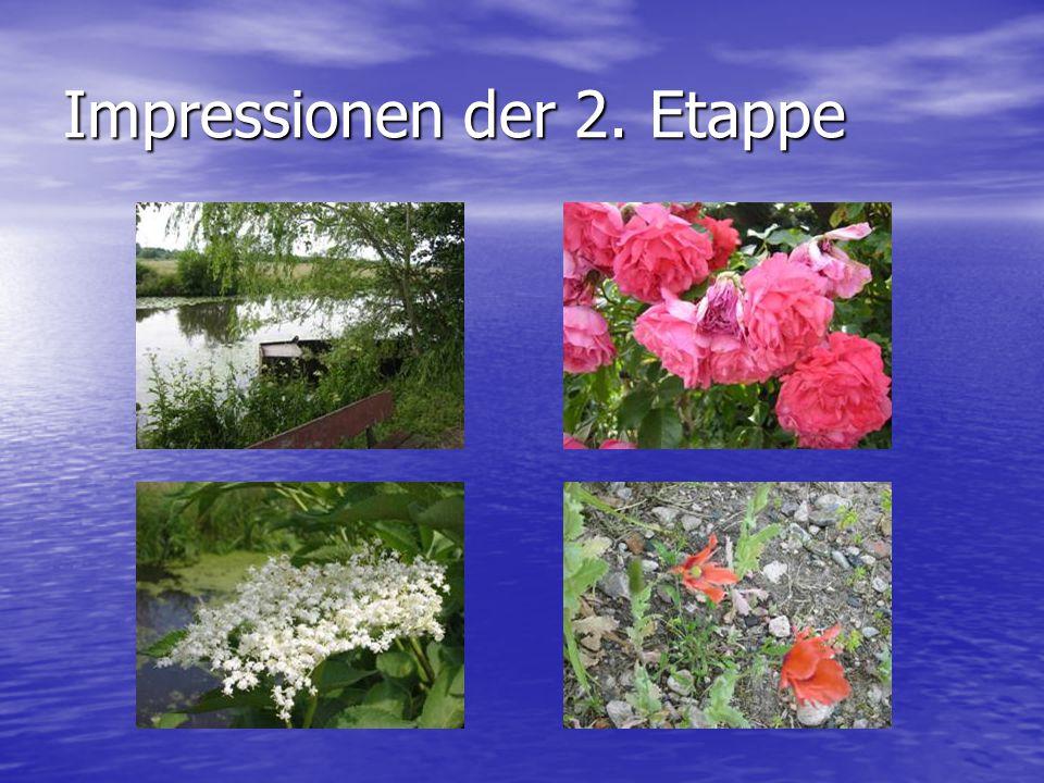 Impressionen der 2. Etappe