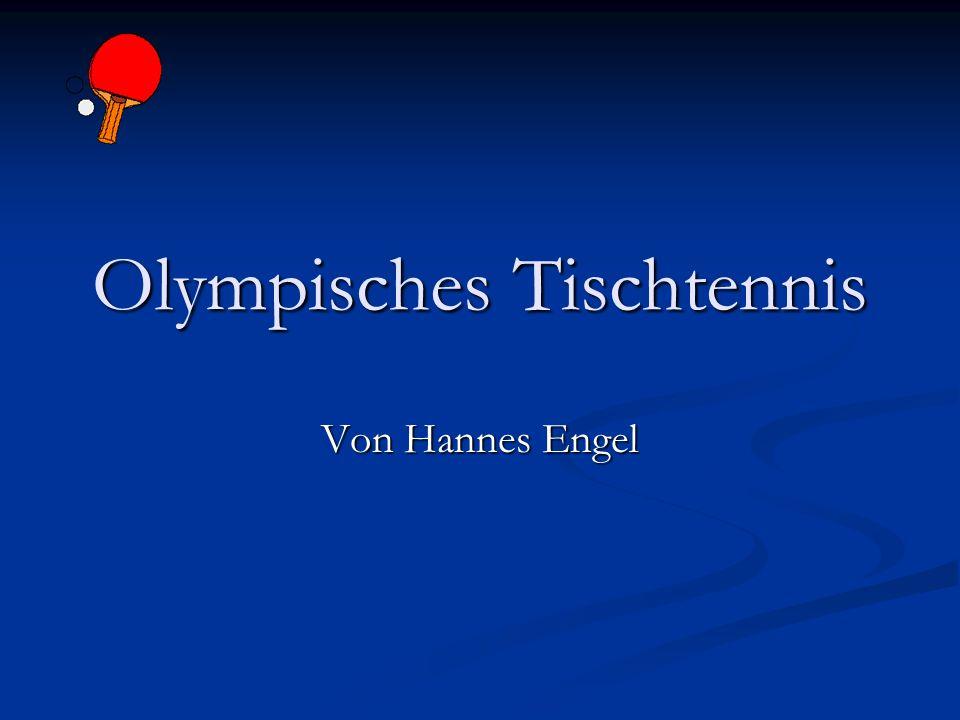 Olympisches Tischtennis Von Hannes Engel
