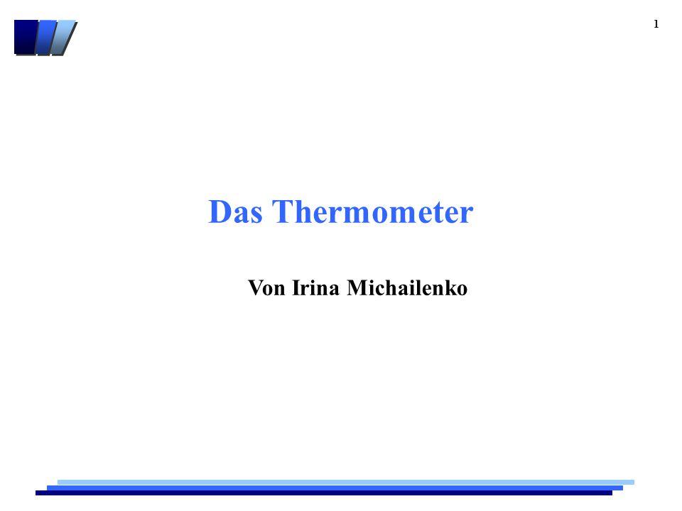 Das Thermometer Von Irina Michailenko 1